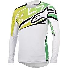 Alpinestars Men's Sight Long Sleeve Jersey Medium White/Bright