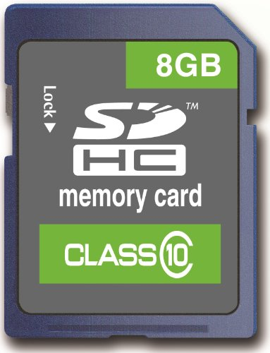 Memzi 8Gb Class 10 20Mb/S Sdhc Memory Card For Bushnell Trail Natureview Series Digital Cameras