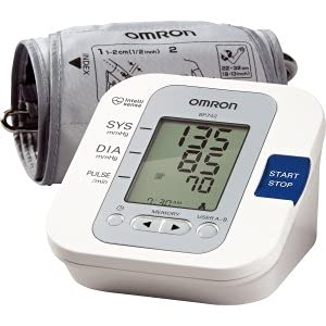 欧姆龙 Omron BP742 5系列上臂式血压计,下单八折后$37.37,全家适用,到手仅¥336
