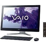 ソニー(VAIO) VAIO Lシリーズ (W8 64/Ci7/24FHD/タッチ/8G/BDXL/3T/WLAN/BT/Office/TV) ブラック SVL24138CJB