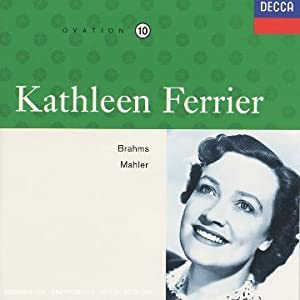 Lieder (coll. Kathleen Ferrier Edition Vol.10)