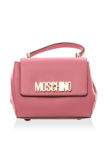 Moschino Women's Top Handle Handbag, Pink, Mini