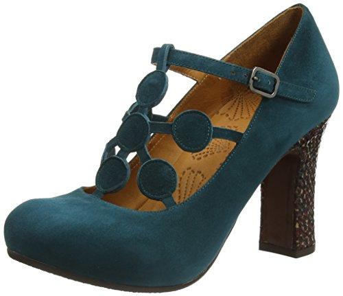 Chie mihara deli, escarpins pour femme - bleu -...