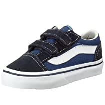 Vans Youth Old Skool V Core , Navy-1.5 Youth
