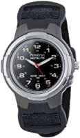 Armitron Men's 204067 Easy to Read Black Nylon Strap Analog Sport Watch from Armitron