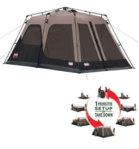 coleman 8 person tent instructions