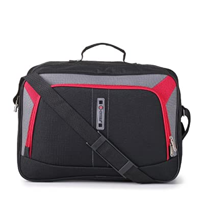 5 Cities/Frenzy Lightweight Cabin Size Flight Carry-On Bag. Ryanair and Easyjet Hand Luggage Approved (under 56 x 45 x 25cm & 50x40x25). Hand & Adjustable Shoulder Strap.