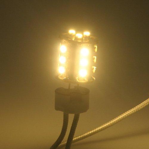 Ledwholesalers Tower Type G4 Base 10 To 32 Volt Ac Dc 18 Smd Warm White Led 186 Lumen 360 Degree Light Bulb, 1412Ww