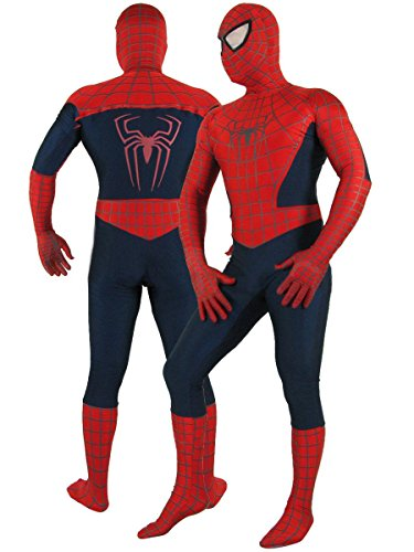 Adult Super Deluxe Costume with Spider-Man Boot Covers