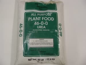 UREA 46-0-0 Fertilizer - 50 Lbs