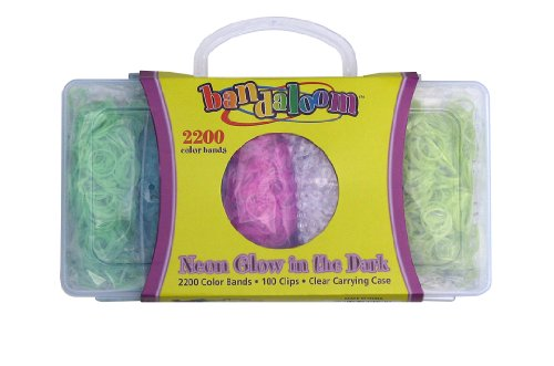 Bandaloom Refill Kit (Neon Collection),2,200 Neon color bands - 1