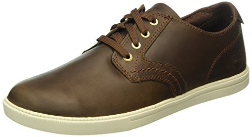 timberland-mens-newmarket-newmarket-fulk-lp-ox-low-top-sneakers-brown-size-10