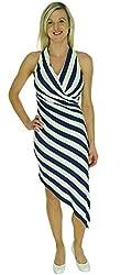 Betsey Johnson Women's Striped Racerback Dress
