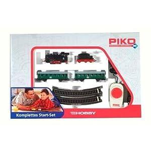 Piko 57110 - H0 Start-Set Personenzug mit Dampflok