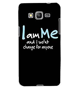 ColourCraft Quote Design Back Case Cover for SAMSUNG GALAXY GRAND PRIME G530H