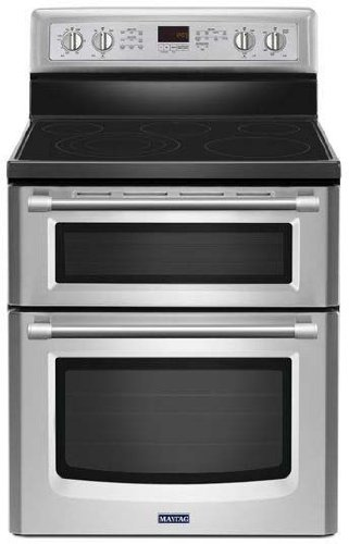 Electric Stove With Convection Oven back-23150