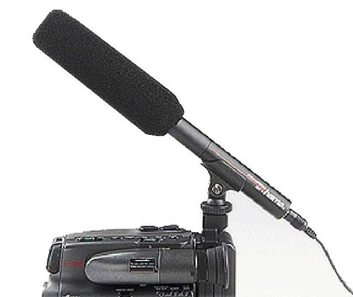 Hama Mono Directional Video Camera Zoom Microphone RMZ-10