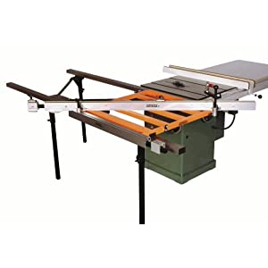 Exaktor Ex60 Table Saw Open Grid Sliding System With Guide Rails Fence Table Assembly