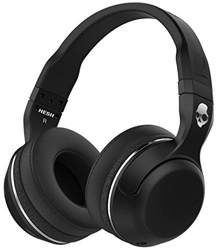 Skullcandy Hesh 2.0 Bluetooth 4.0 Wireless Headphones with Mic (Black)