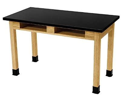 "Science Lab Table Table Size: 24"" W x 48"" L"
