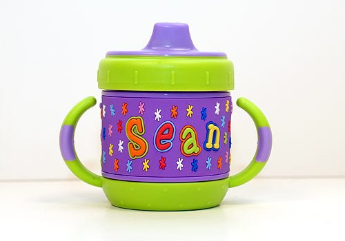Personalized Sippy Cup: Sean front-850508