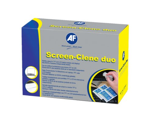af-screen-clene-monitor-cleaning-duo-pairs-of-wet-and-dry-wipes-ref-scr020-pack-of-20x2