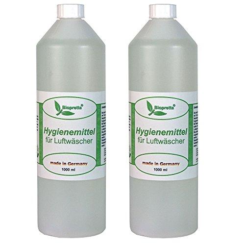 2 Liter Hygienemittel für Luftwäscher Luftreiniger Luftbefeuchter Raumklimaverbesserer Venta Beurer DeLonghi Miele Aclimat Biffinet Melitta