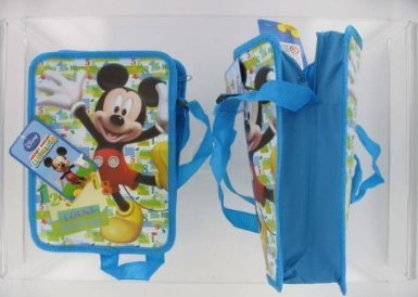 Disney Mickey Mouse Clubhouse Count With Me Schule/Kindergarten Lunchbag Als Umhängetasche Nutzbar