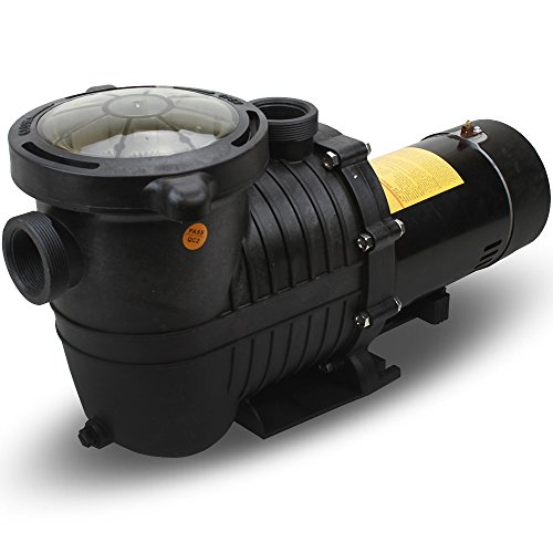 XtremepowerUS Energy Efficient Variable 2 Speed 1HP Inground Swimming Pool Pump