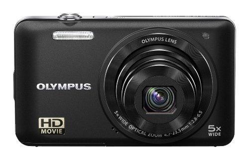 Olympus VG-160 Black 14MP Digital Camera with 5x Optical Zoom (Black)