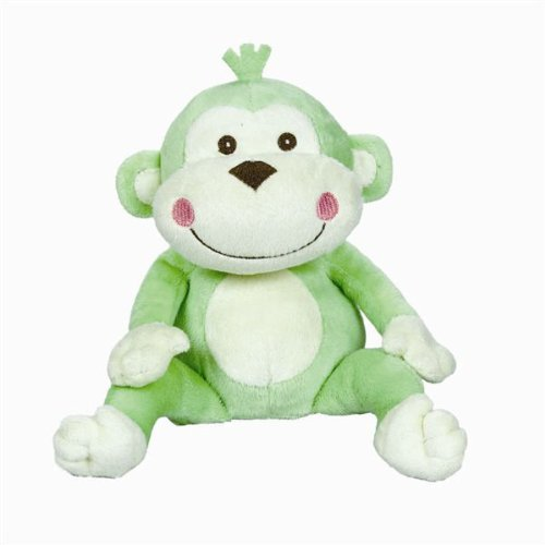 "Amscan Adorable Fisher-Price Monkey Baby Shower Party Gift Ideas, 10"", Green"