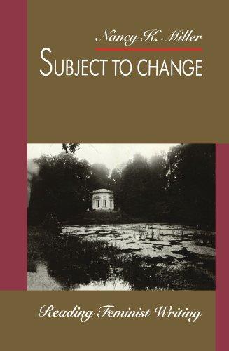 Subject to Change: Reading Feminist Writing