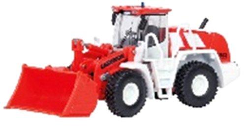 Schuco 452602900 - Liebherr Radlader 550 2 plus 2, Feuerwehr, Die-Cast, Maßstab 1:87, rot