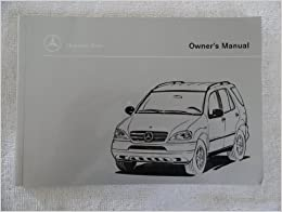 1998 mercedes ml320 owners manual ml 320 mercedes amazon for Mercedes benz ml320 repair manual