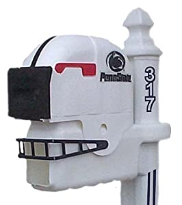 Penn State Nittany Lions Helmet Style Mailbox by Ultimate Sports Gifts