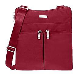Baggallini Horizon Crossbody Travel Bag, Apple, One Size