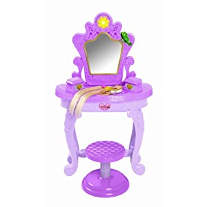 Amazon Com Tangled Rapunzel Light Up And Sound Vanity