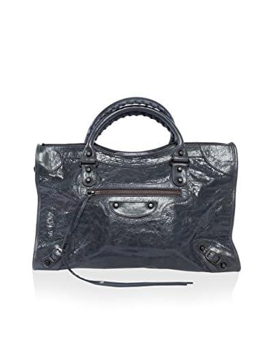 Balenciaga Women's Classic City Handbag, Dark Grey