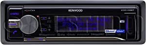 Kenwood KDCX997 eXcelon Sing DIN In-Dash Car Stereo with Built In Bluetooth