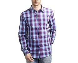 Scotchtree Men's Shirt (sco_009_Multi-Coloured_X-Large)
