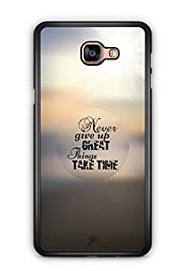 YuBingo Never Give Up. Great Things Take Time Mobile Case Back Cover for Samsung Galaxy A9