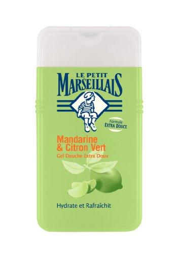 Le Petit Marseillais Extra Gentle Gel Doccia Mandarino calce e 250 ml Set di 3