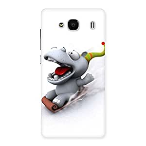Ajay Enterprises ice scating cartoon Back Case Cover for Redmi 2 Prime