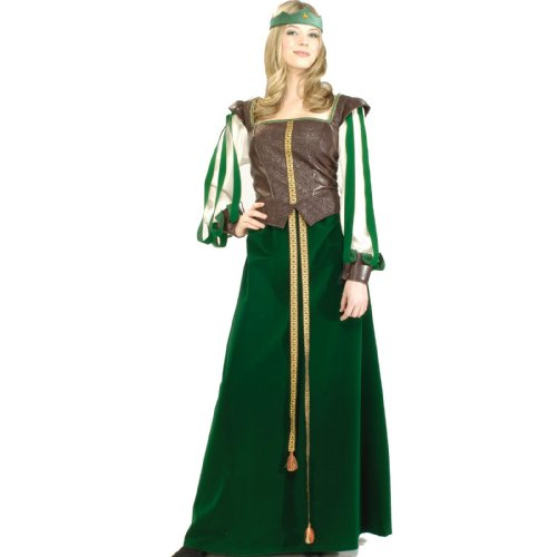 Maid Marion Adult Costume Size Small (2-6)