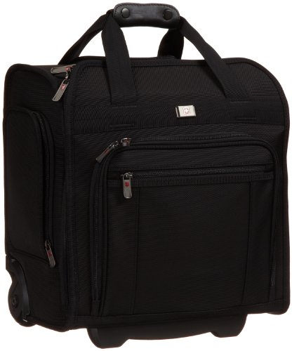 Victorinox  Wheeled Eurotote,Black,One Size special discount