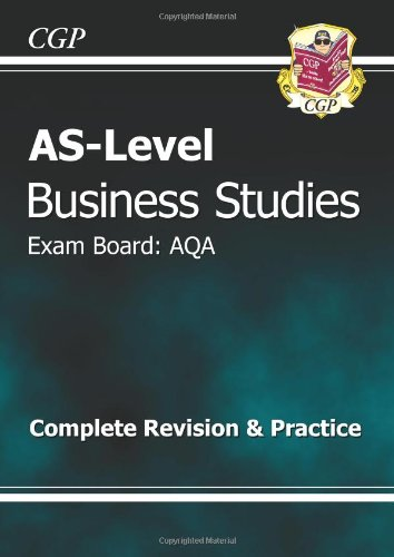 AS-Level Business Studies AQA Complete Revision & Practice (Revision Guide)