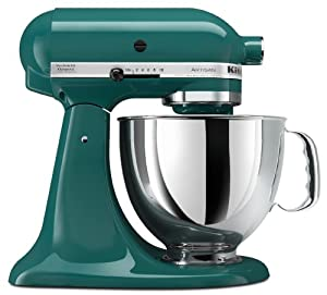 Kitchenaid ksm150psbl artisan series 5 quart mixer bay leaf electric stand mixers - Kitchenaid mixer bayleaf ...