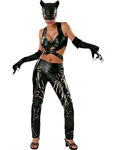 Deluxe Catwoman Costume - Large - Dress Size 14-16