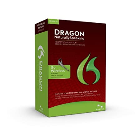 Dragon NaturallySpeaking Professional 12 Bluetooth, English