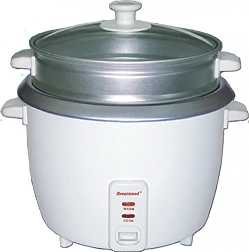 Brentwood Appliances Ts700s 4 Cup Rice Cooker with Steamer White Fast Ship